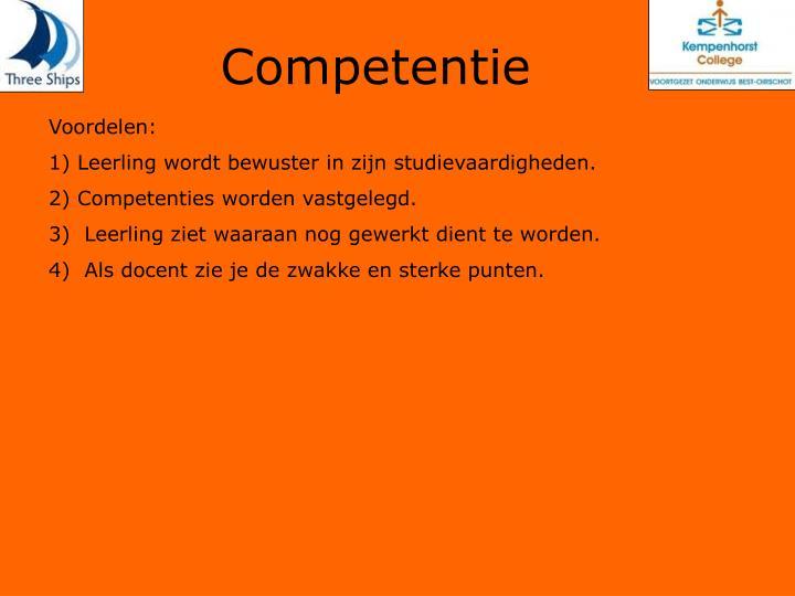 Competentie