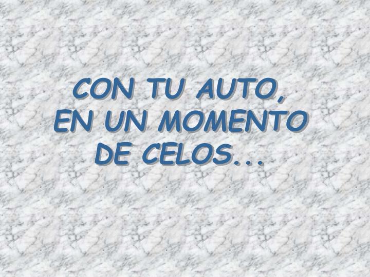 CON TU AUTO,
