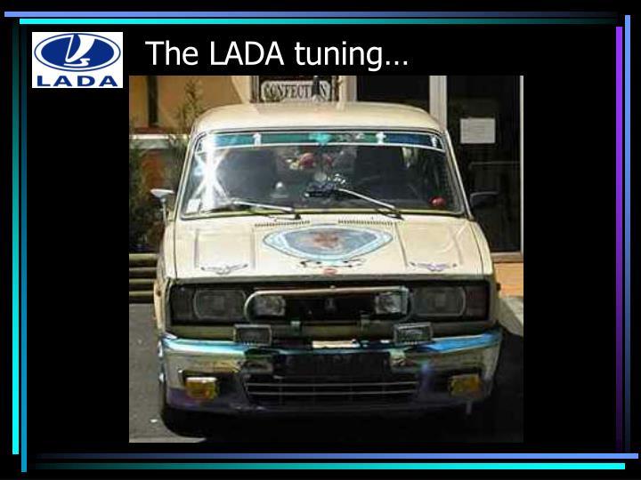 The lada tuning