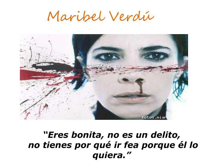 Maribel Verdú