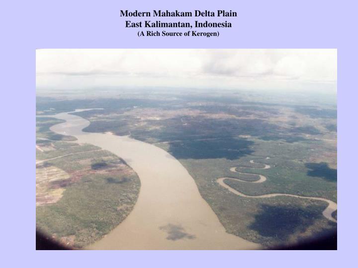 Modern Mahakam Delta Plain