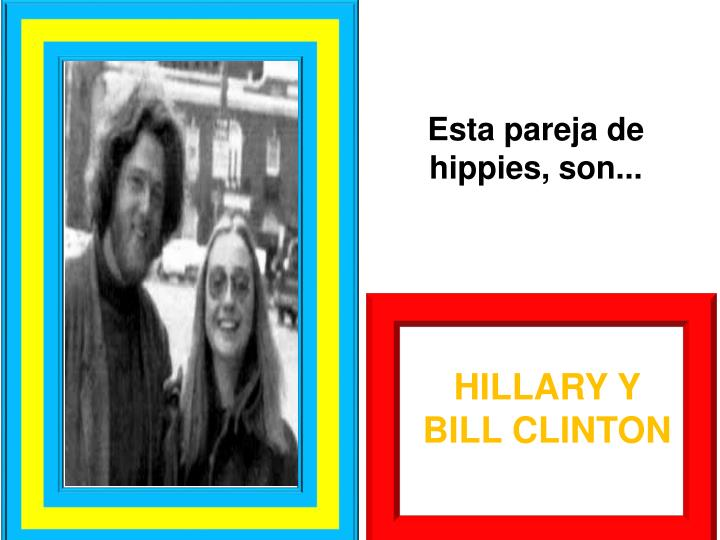 Esta pareja de hippies,