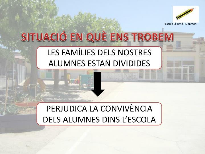 Escola El Timó - Sidamon