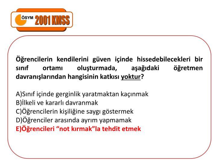 2001 KMSS