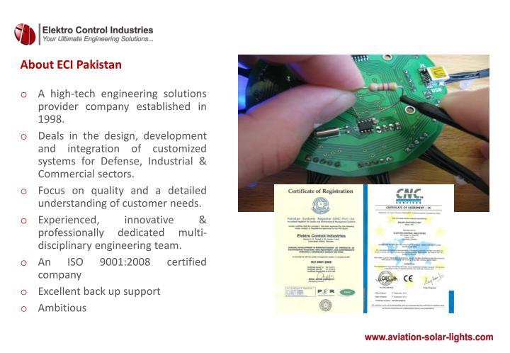 About ECI Pakistan