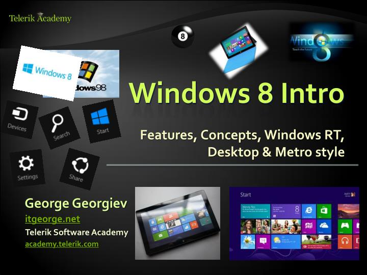 windows 8 features ppt