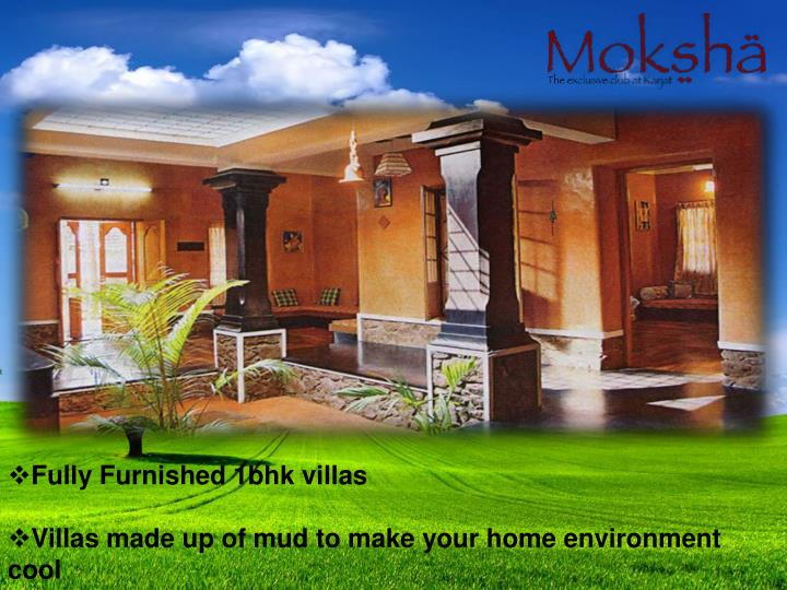 Fully Furnished 1bhk villas