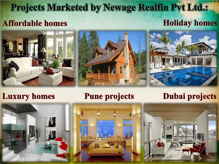 Projects Marketed by Newage Realfin Pvt Ltd.: