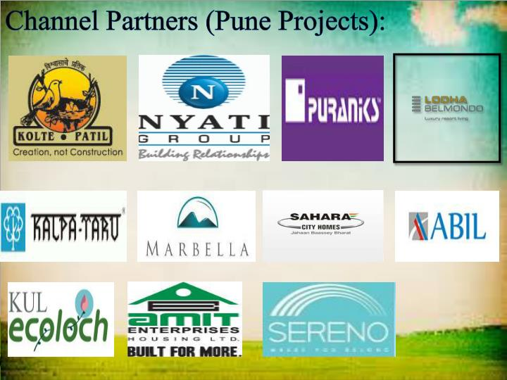 Channel Partners (Pune Projects):