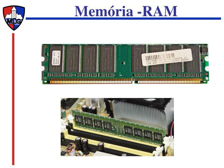 Memória -RAM