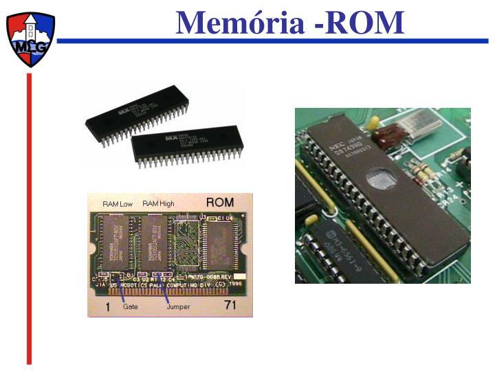 Memória -ROM
