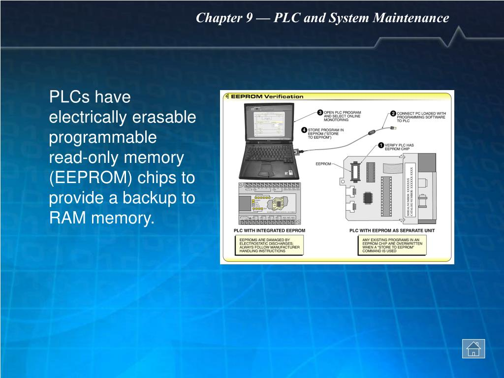 PPT - Chapter 9 PLC and System Maintenance PowerPoint
