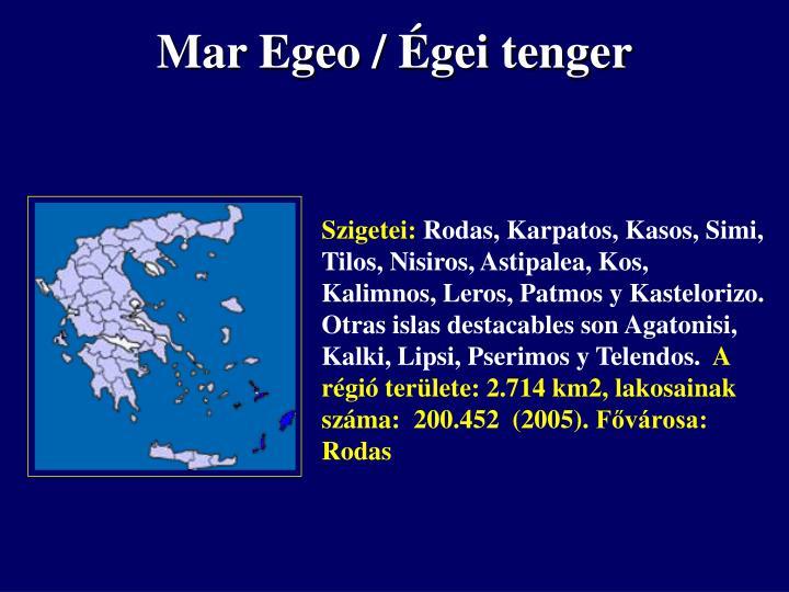 Mar Egeo /