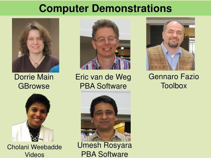 Computer Demonstrations