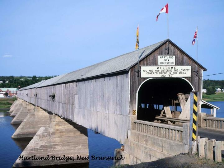 Hartland Bridge, New Brunswick