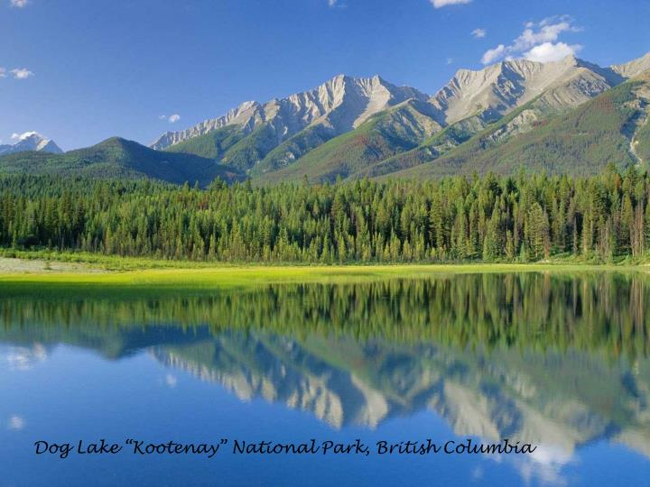 "Dog Lake ""Kootenay"" National Park, British Columbia"