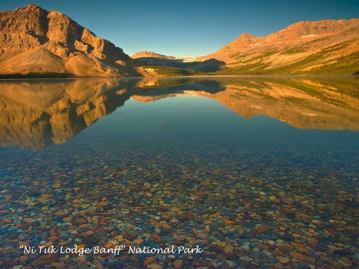 """Ni Tuk Lodge Banff"" National Park"