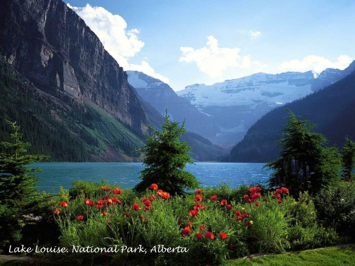 Lake Louise. National Park, Alberta