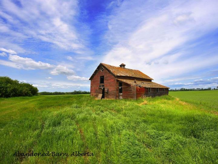 Abandoned Barn, Alberta