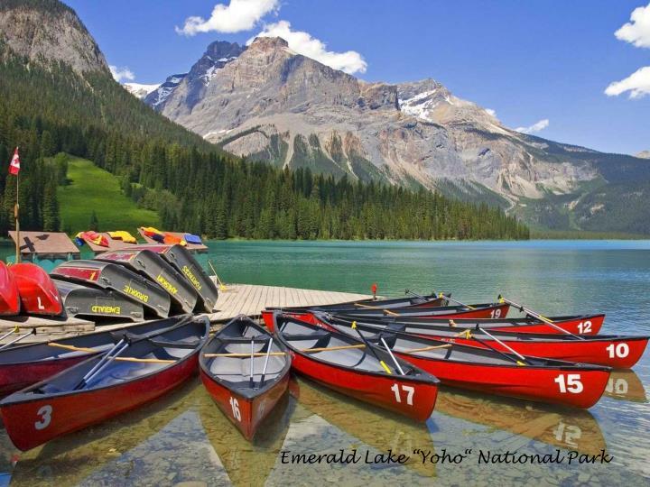 "Emerald Lake ""Yoho"" National Park"