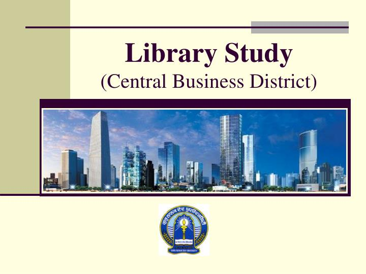 library study central business district n.