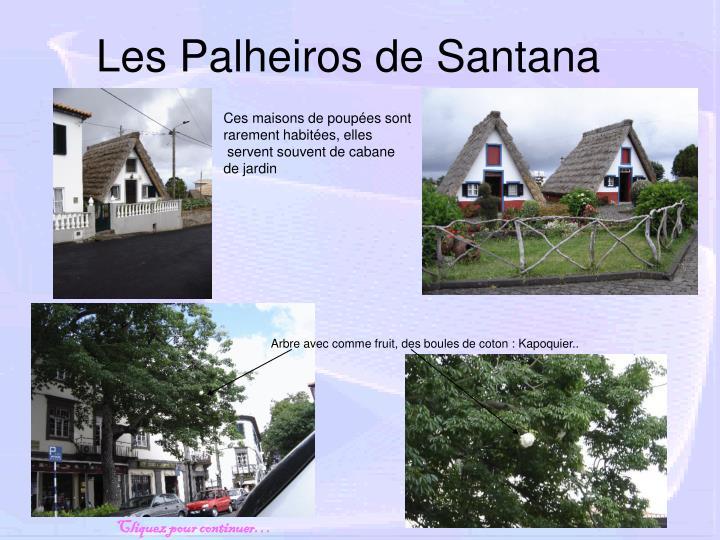 Les Palheiros de Santana
