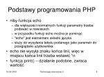 podstawy programowania php2