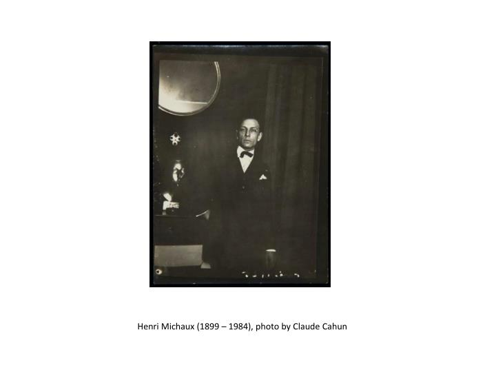 Henri Michaux (1899 – 1984), photo by Claude Cahun