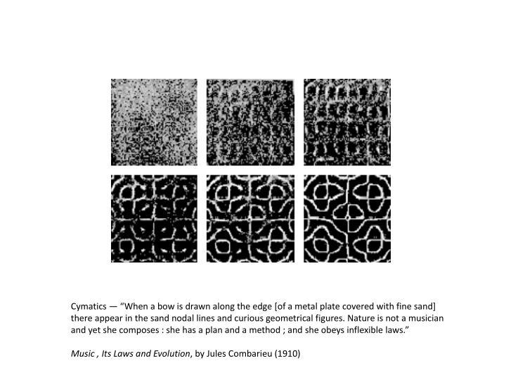 Cymatics —