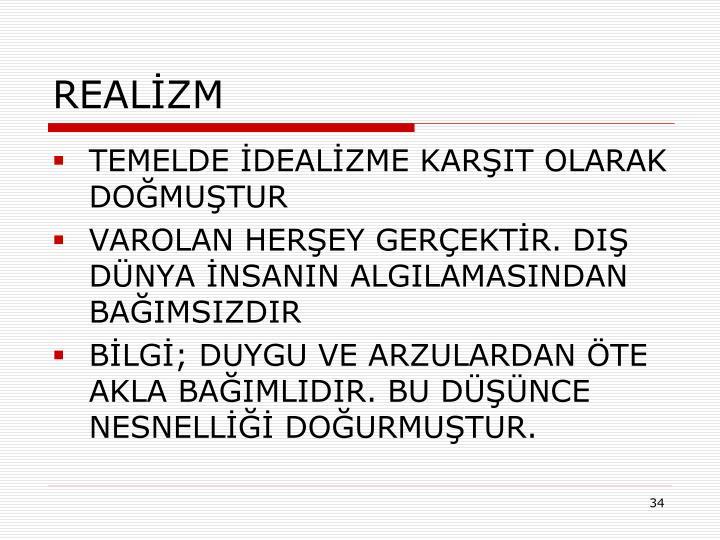 REALİZM
