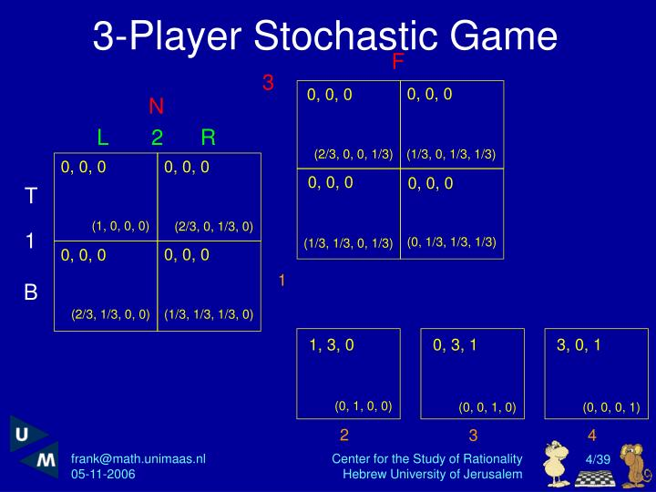 3-Player Stochastic Game