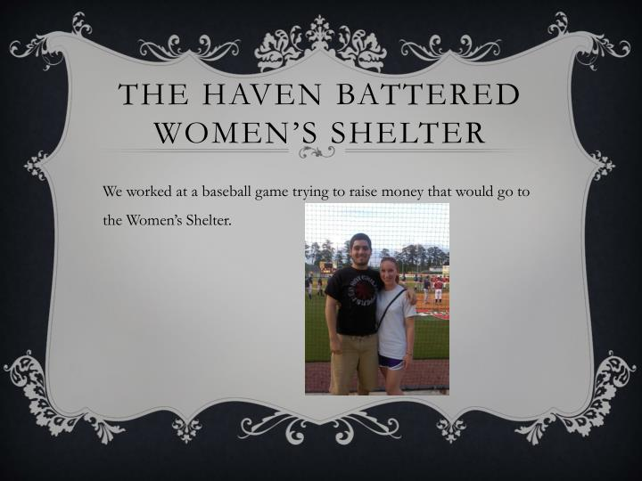 The haven battered women s shelter