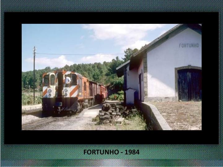 FORTUNHO - 1984