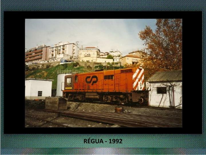 RÉGUA - 1992