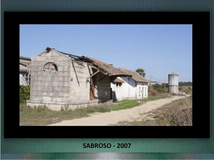 SABROSO - 2007