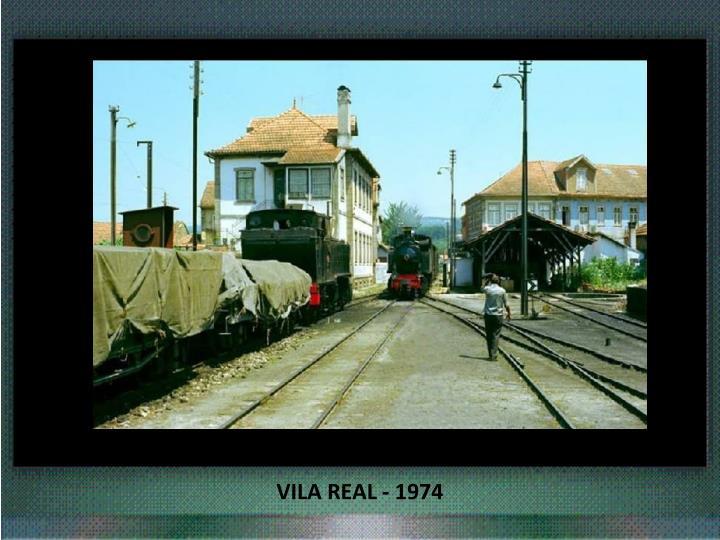 VILA REAL - 1974