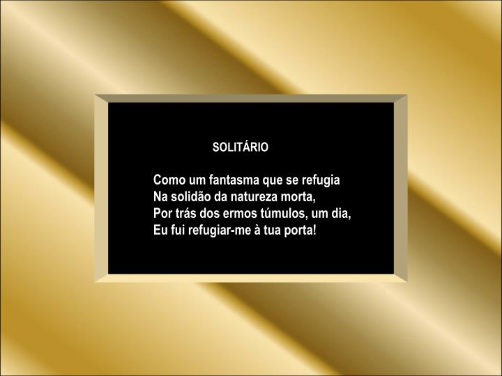 SOLITÁRIO