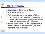 kurt overview