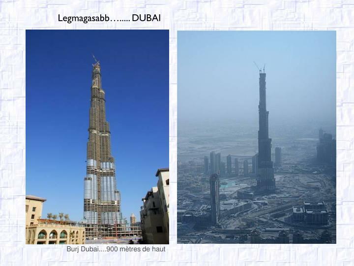 Burj Dubai....900