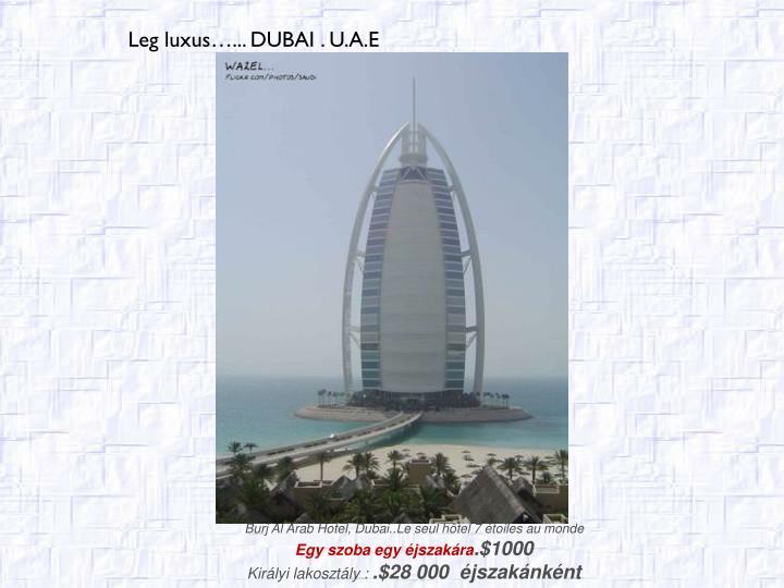Burj Al Arab Hotel, Dubai..