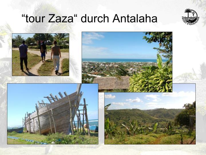"""""""tour Zaza"""" durch Antalaha"""