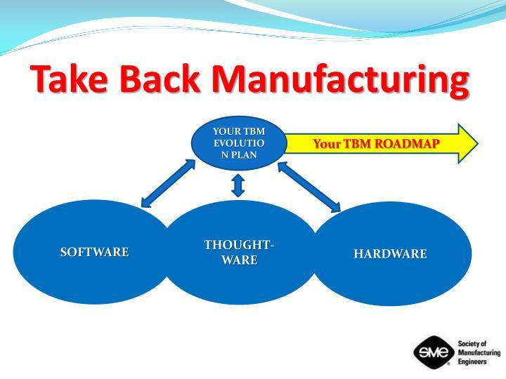 Take Back Manufacturing