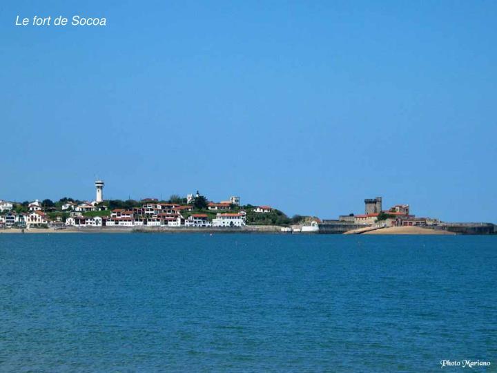 Le fort de Socoa