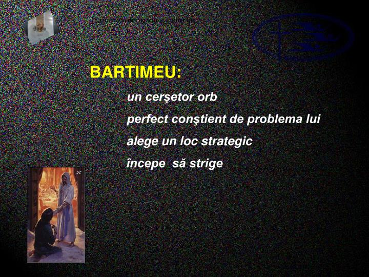 BARTIMEU: