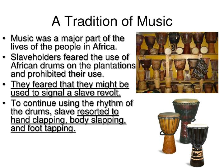 A Tradition of Music