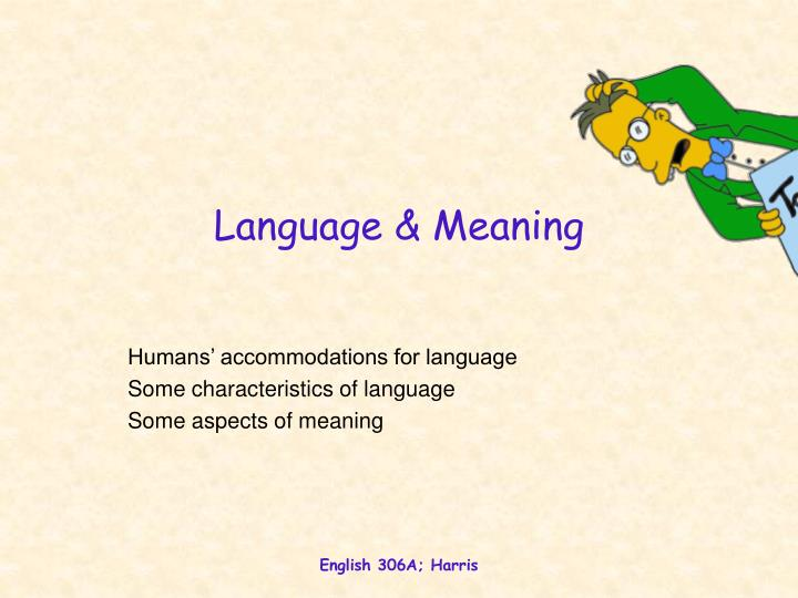 language meaning n.