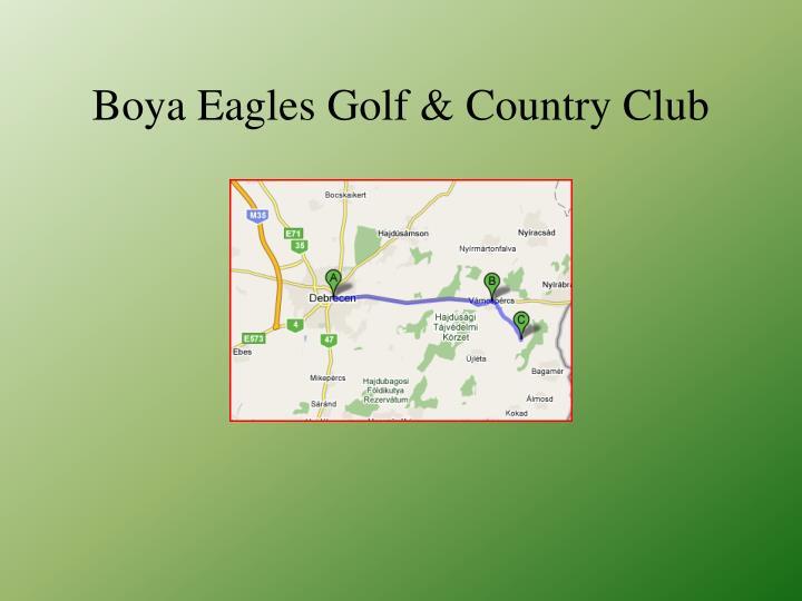 Boya eagles golf country club1