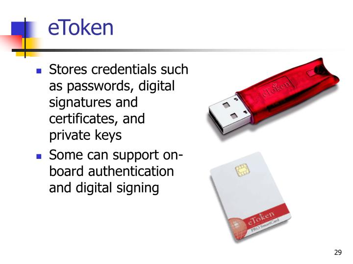 Stores credentials such as passwords, digital signatures and certificates, and private keys