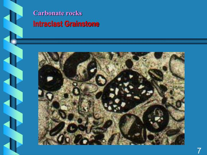 Carbonate rocks