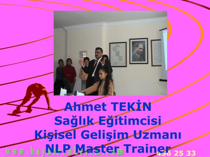 Ahmet TEKİN